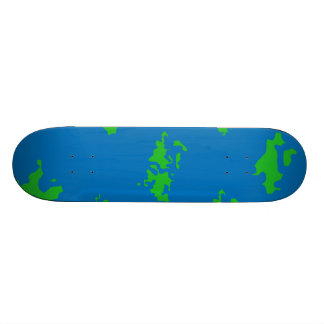 Water and Land Skate Board Deck
