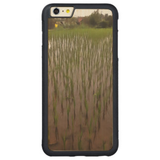 Water and paddy field carved® maple iPhone 6 plus bumper case