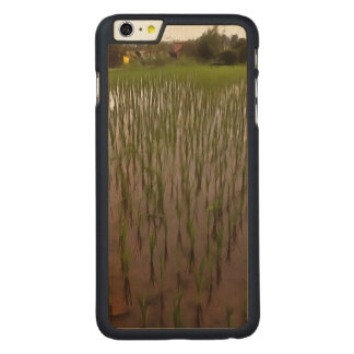 Water and paddy field carved® maple iPhone 6 plus case
