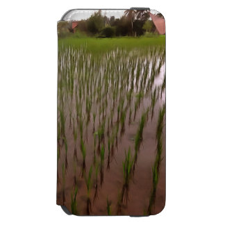 Water and paddy field incipio watson™ iPhone 6 wallet case