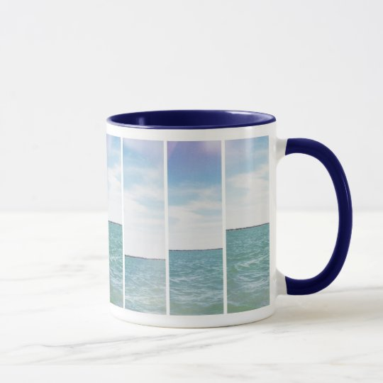 Water and Sky Mug By Megaflora