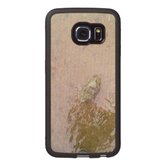 Water and Stone.jpg Wood Phone Case