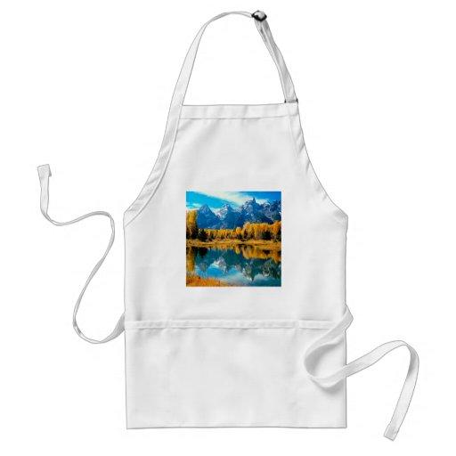Water Autumn Grand Teton National Park Aprons