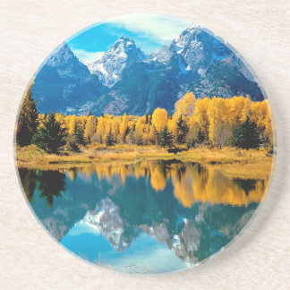 Water Autumn Grand Teton National Park Coaster