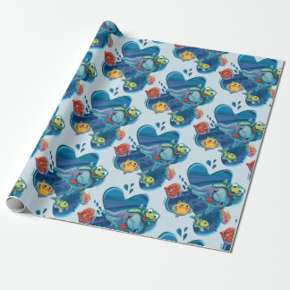 Water Babies Wrapping Paper