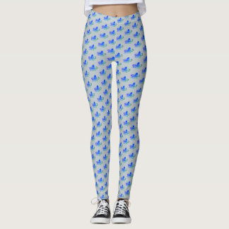Water Baby - Blue Octopus Leggings