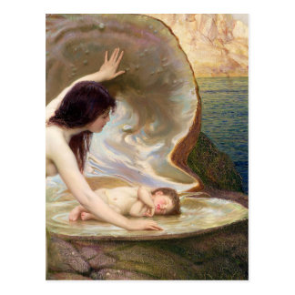 Water Baby - Herbert James Draper Postcard