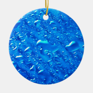 Water Background Christmas Ornament