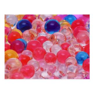 water balls texture postcard
