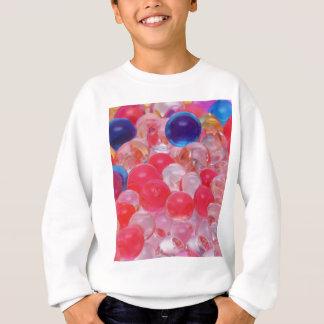water balls texture sweatshirt
