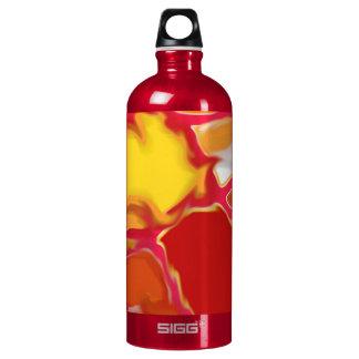 Water Bottle 1 L Traveller Red Multi