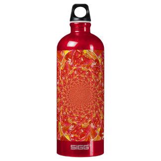 Water Bottle 1 L Traveller Red Multi Kaleidoscope