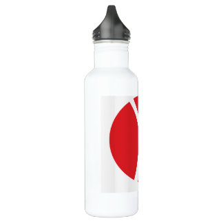 Water Bottle (24 oz), White for Solo Travelers