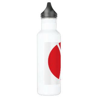 Water Bottle (24 oz), White for Solo Travelers 710 Ml Water Bottle
