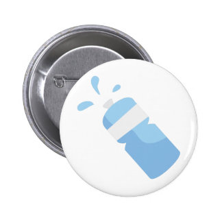 Water Bottle Pinback Buttons