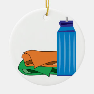 Water Bottle Christmas Ornament