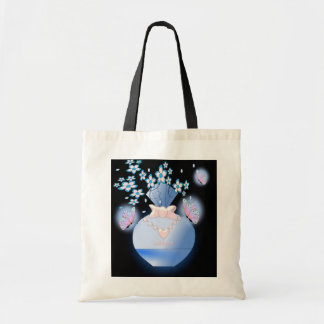 Water Bottle Cologne Budget Tote Bag