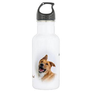 water bottle featuring Oscar