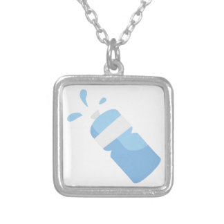 Water Bottle Personalized Necklace