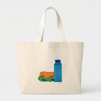 Water Bottle Jumbo Tote Bag