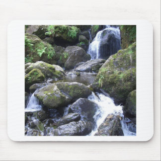 Water Boulder Moutain Falls Mouse Pads