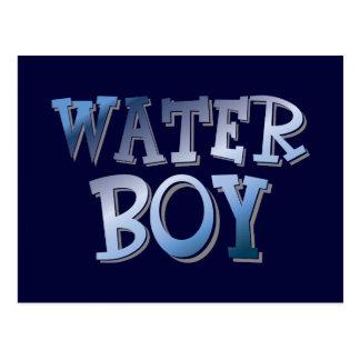 Water Boy Postcard