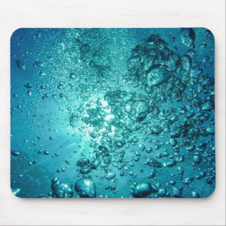 Water Bubbles Mouse Mat