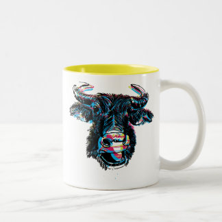 Water Buff Two-Tone Mug