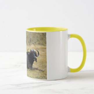 WATER BUFFALO IN KENYA MUG