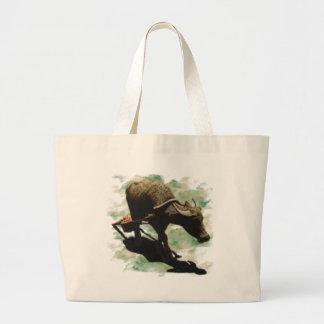 Water Buffalo Large Tote Bag