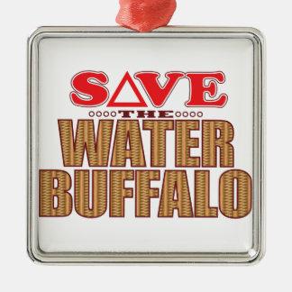 Water Buffalo Save Christmas Ornament