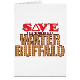 Water Buffalo Save Greeting Card
