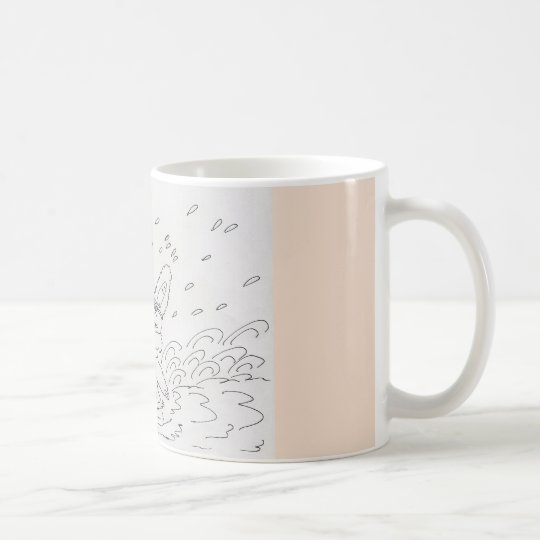 Water Bunny Coffee Mug