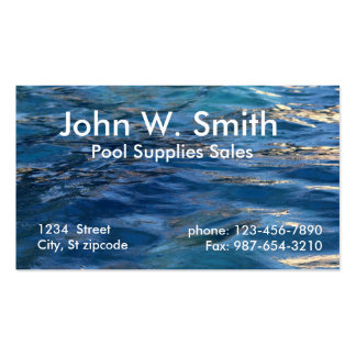 Water business cards