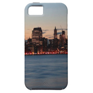 Water Canary Wharf Night Sky Cover For iPhone 5/5S