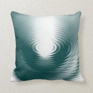 Water Circles cushion