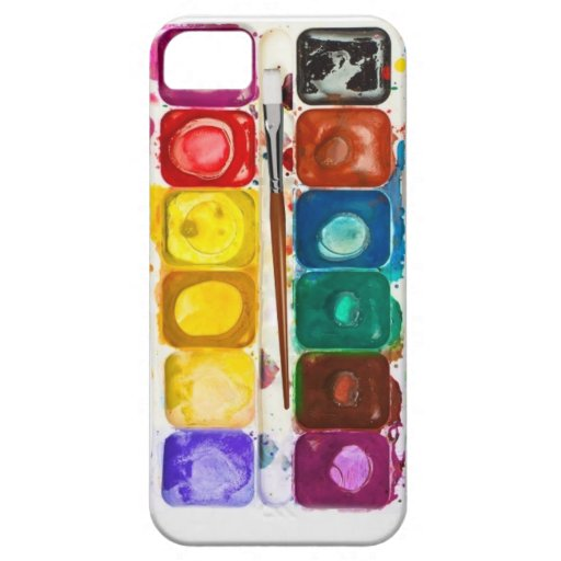 Water color iphone cover iPhone 5 cases