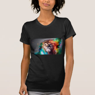 Water color lion shirts