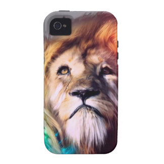 Water color lion vibe iPhone 4 cover