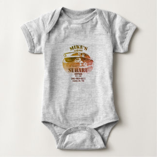 Water Color Logo Baby Bodysuit