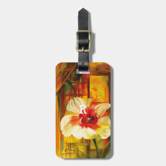 Water Color Luggage Tag