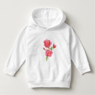 Water Color Roses Hoodie