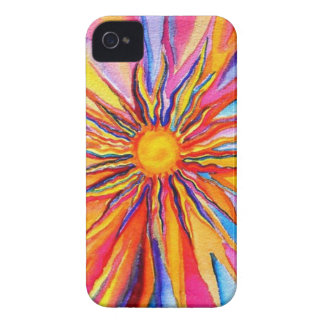 Water Color Sun Iphone Case