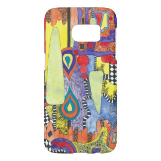 Water color Unique abstract Samsung S7 case