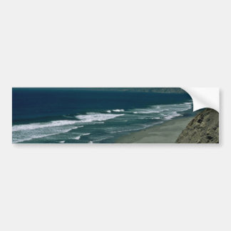 Water Colored Blue Bumper Stickers