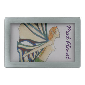 Water colour Fairy Rectangular Belt Buckles