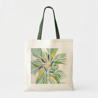 Water Colour Flowers No1 Budget Tote Bag