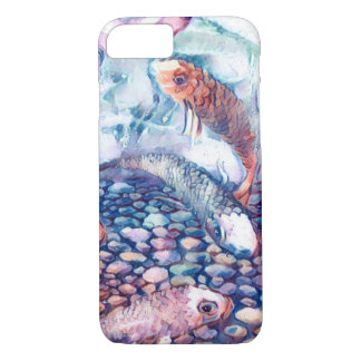 Water colour koi iPhone 8/7 case