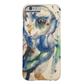 water colour owl barely there iPhone 6 case