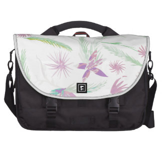 water colour pink palms bag for laptop